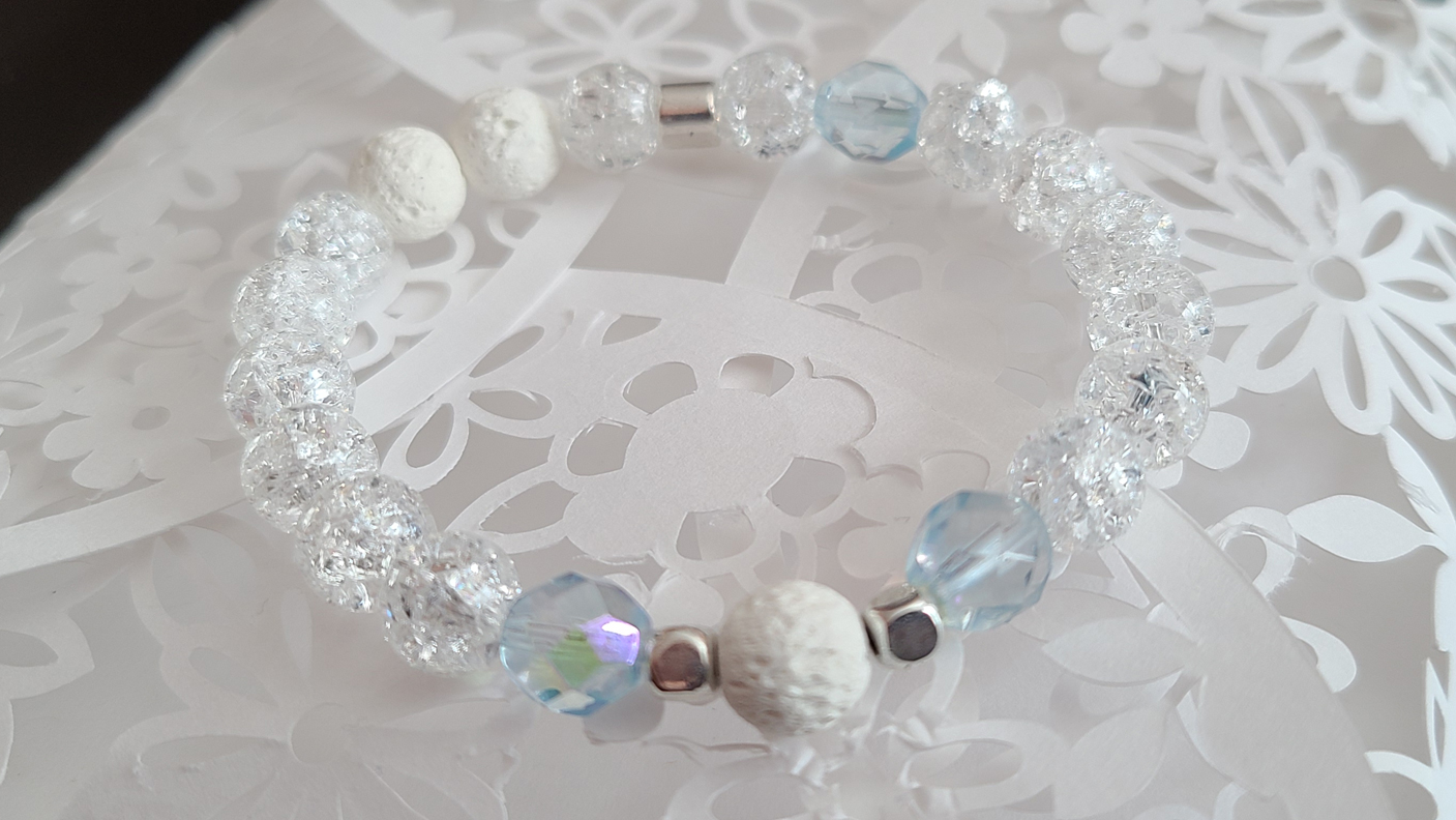 Crackle Quartz Bracelet